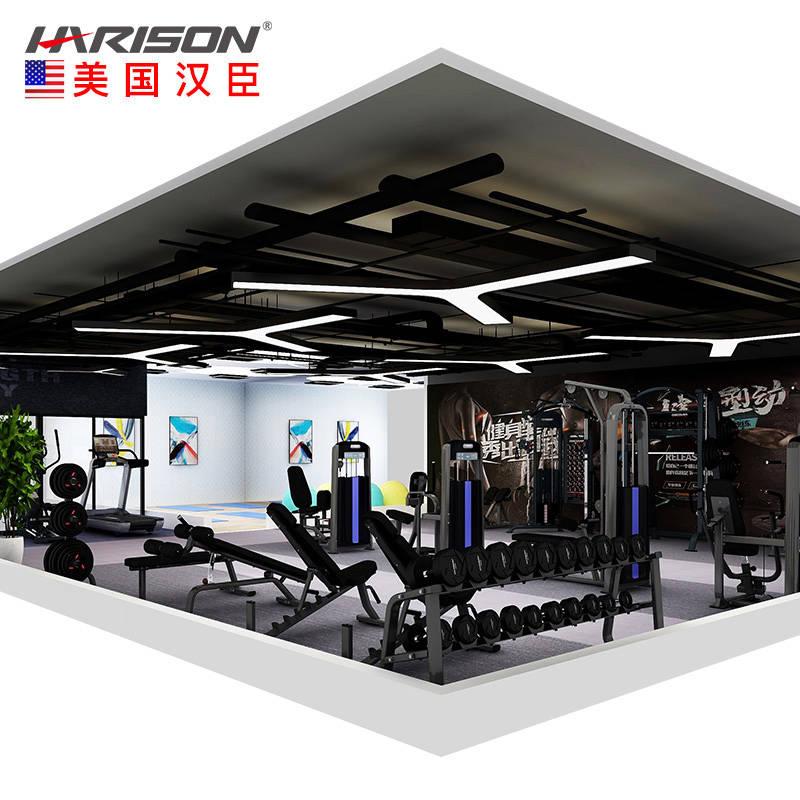 150平米健身房配置