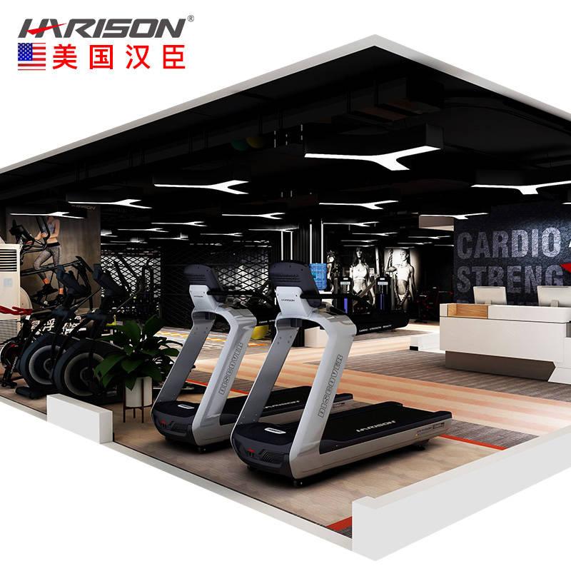 200平米健身房配置